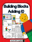 Building Blocks Adding 10 Math Station