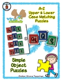Building Blocks - Alphabet / Letter Puzzles - Simple Objects