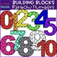 Building Blocks Clip Art- Numbers Mini Bundle {jen hart Clip Art)