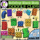 Building Blocks Clipart Buddies:  Emotions