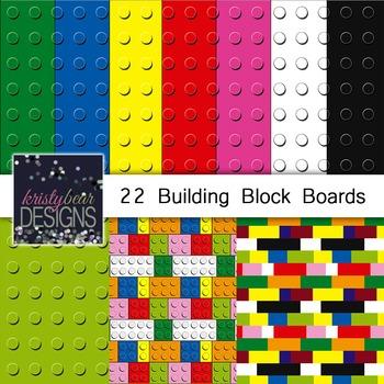 Building Blocks Digital Papers
