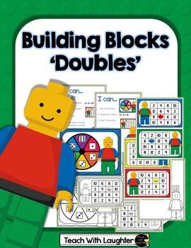 Building Blocks Doubles Math Station