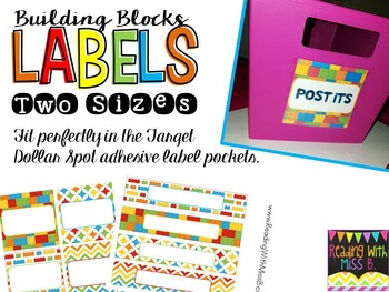 Building Blocks EDITABLE Lables