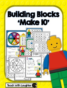 Building Blocks Make 10 Math Work Station