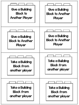 Building Blocks Mini Unit: Low Ink Version