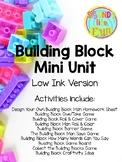 Building Blocks Mini Unit: Print & Go