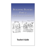 Building Blocks, Part 2: Subjects, Verbs, & Complements—Te