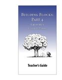 Building Blocks, Part 4: Clauses & Phrases—Teacher Guide