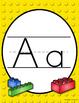 Building Blocks Print Alphabet Posters (Alphabet Lines)