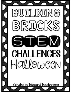 Building Blocks STEM/STEAM Halloween Challenges