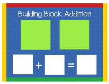 Building Blocks Simple Addition