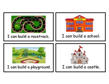 Building Blocks Task Cards
