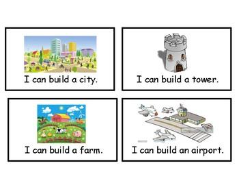 Building Blocks Task Cards