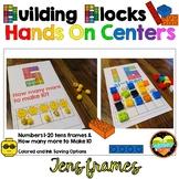 Building Blocks Tens Frames Hands on Math