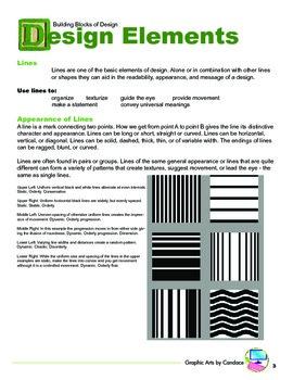 Building Blocks of Design: The Elements of Design