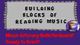 Building Blocks of Reading Music Bulletin Board