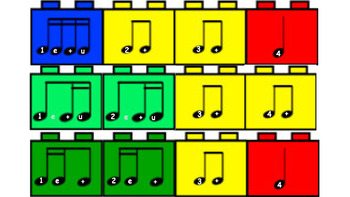 Building Blocks of Reading Music Bulletin Board