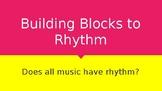 Building Blocks to Rhythm (PowerPoint Presentation)