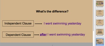 Building Blocks to Sentences: Clauses