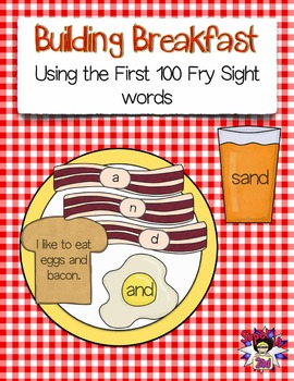 Building Breakfast with the First 100 Fry Sight Words