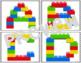 Building Brick Alphabet Cards