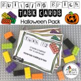 Building Brick Task Cards Halloween Edition