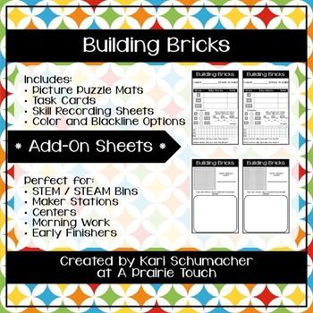 Building Bricks - Add-On Sheets
