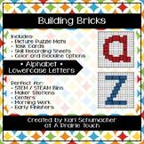 Building Bricks - Alphabet - Lowercase Letters
