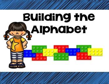Building Bricks Alphabet Mats