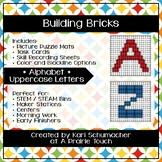 Building Bricks - Alphabet - Uppercase Letters