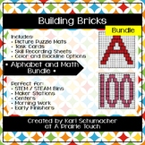 Building Bricks - Alphabet and Numbers Bundle