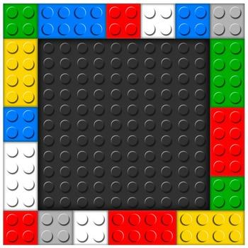Building Bricks Digital Clipart Color