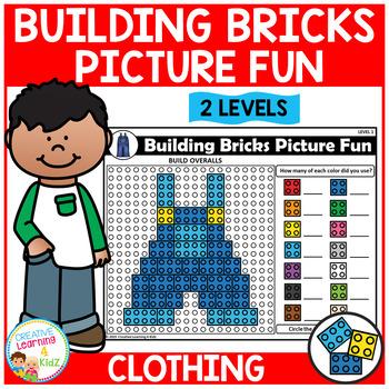 Building Bricks Picture Fun: Clothing