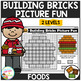 Building Bricks Picture Fun: Foods