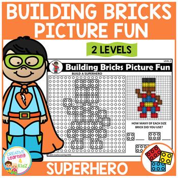 Building Bricks Picture Fun: Superhero