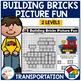 Building Bricks Picture Fun: Transportation