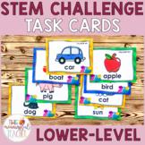 Building Bricks LEGO STEM Challenge Task Cards | Lower Level |