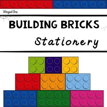 Building Bricks Stationery