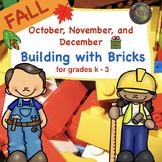 Building Bricks for Kids Fall  STEM Challenges