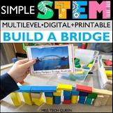 STEM at Home Building Bridges