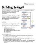 Building Bridges - STEM Challenge - Engineer Design Process