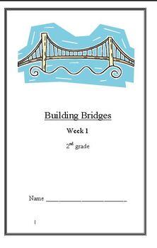 Building Bridges Unit:6 Weeks of Lesson Plans{BUNDLED} ELA Unit