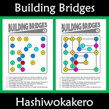 Growth Mindset Activity: Building Bridges and Islands (Hashiwokakero)