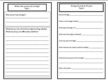 Building Bridges:Types of Bridges (Week 1) Common Core Weekly Lesson Plan