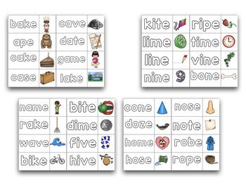 Building CVC-E Words