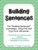 Building CVC Sentences
