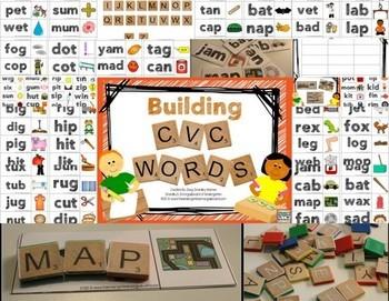 Building CVC Words!