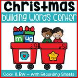 Building CVC Words (Christmas Train)