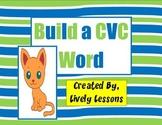 Building CVC Words Literacy Center
