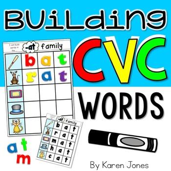 CVC Words {Magnetic Letter Center}